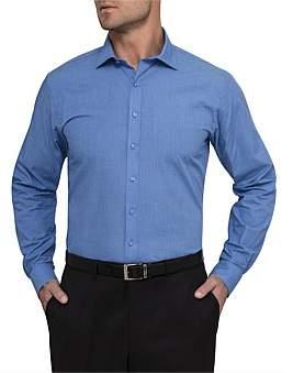 Van Heusen European Fit Woven Plain Shirt