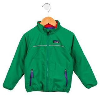 Patagonia Boys' Reversible Fleece Jacket