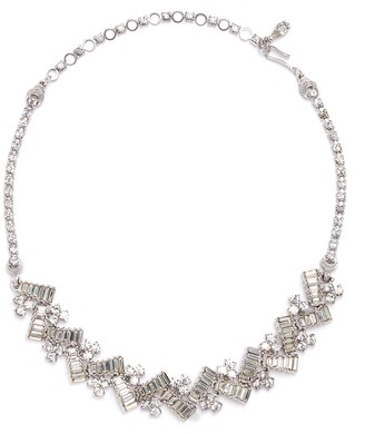 Loren Stazia Diamante geometric necklace