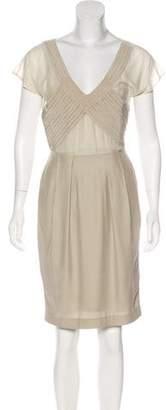 TSE Silk Knee-Length Dress