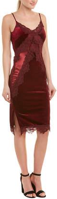 Romeo & Juliet Couture Lace-Trim Slip Dress