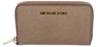 MICHAEL Michael Kors Textured Leather Phone Wallet