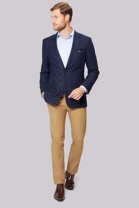 Ermenegildo Zegna Cloth Navy Semi Plain Jacket