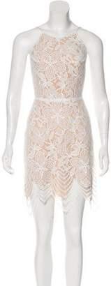 For Love & Lemons Open-Back Lace Dress