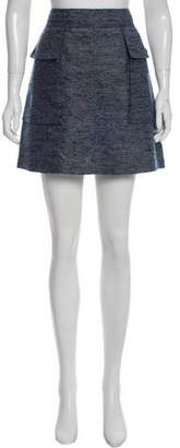 Stella McCartney Tweed Mini Skirt