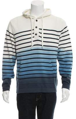 Tommy Hilfiger Striped Pullover Hoodie w/ Tags
