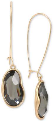 Robert Lee Morris Soho Gold-Tone Stone Drop Earrings