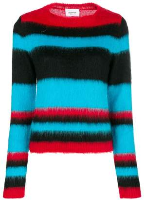 Dondup stripe colour-block sweater