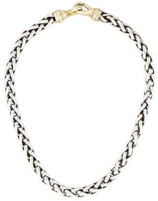 David Yurman Wheat Chain Necklace $995 thestylecure.com