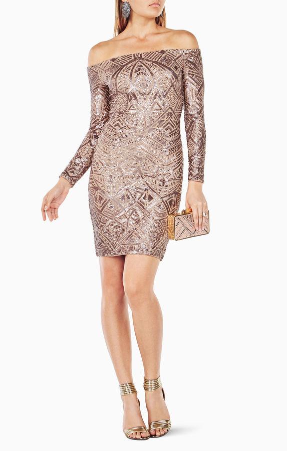 BCBGMAXAZRIAEunice Sequined Dress
