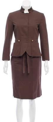 CH Carolina Herrera Pencil Skirt Suit