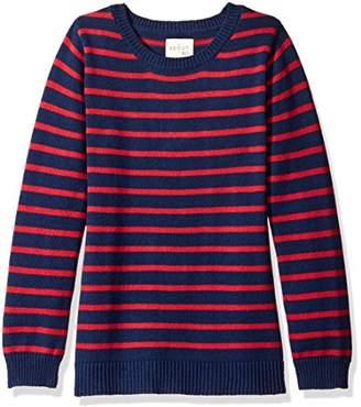 Scout + Ro Little Girls' Stripe Sweater Tunic