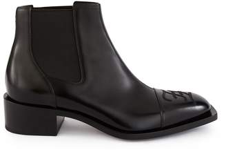 Fendi Leather Chelsea boots