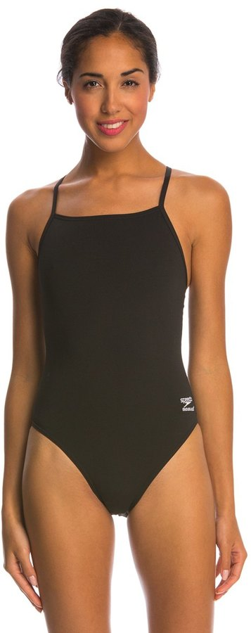 Speedo Endurance+ Solid Closed Back One Piece Swimsuit 8146403
