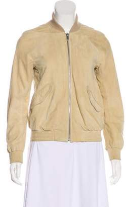 Theyskens' Theory Retro Suede Blouson