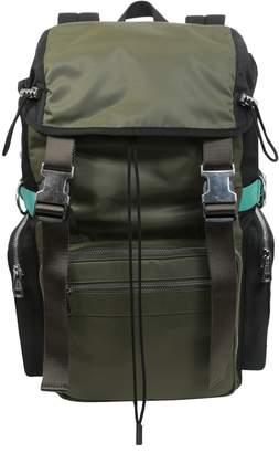 Diesel Black Gold Nylon Backpack