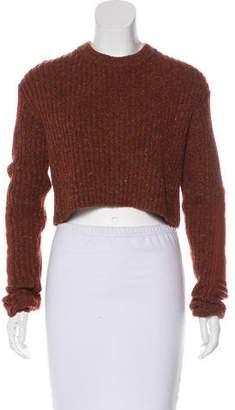 Tibi Wool-Blend Cropped Sweater w/ Tags