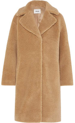 BEIGE STAND - Camille Faux Shearling Coat