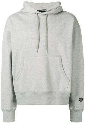 Gosha Rubchinskiy logo embroidered hoodie