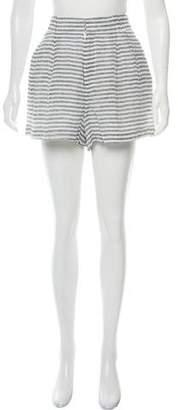 Apiece Apart Linen High-Rise Shorts