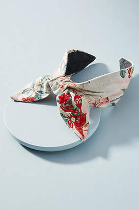 Anthropologie Bow-Tied Headband