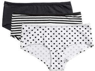 H&M 3-pack Hipster Briefs - White