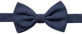 Ryan Seacrest Distinction Men Striped Chiffon Pre-Tied Bow Tie
