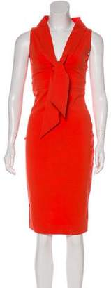 DSQUARED2 Wool Bodycon Dress