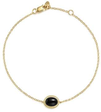 Bloomingdale's Onyx Oval Bracelet in 14K Yellow Gold - 100% Exclusive