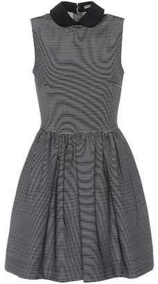 Miu Miu Striped cotton-blend dress