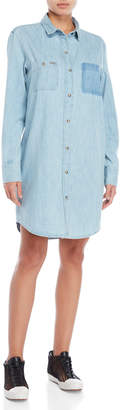 Superdry Oversized Denim Shirtdress