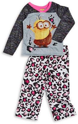 Ame Sleepwear Minion Pajama Set $36 thestylecure.com