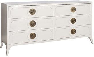 One Kings Lane West End 6-Drawer Dresser - Light Gray