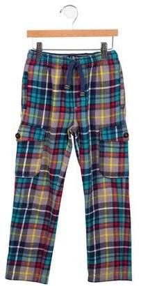 Boden Mini Boys' Plaid Pajama Bottoms