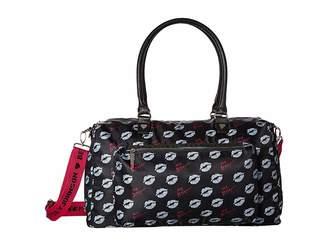 Betsey Johnson Sporty Weekender Bag Handbags
