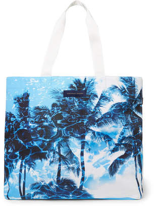 Orlebar Brown Clyde Printed Canvas Tote Bag - Men - Blue