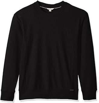 Calvin Klein Jeans Men's Thicker Rib Trim Basic Crew Neck Sweatshirt