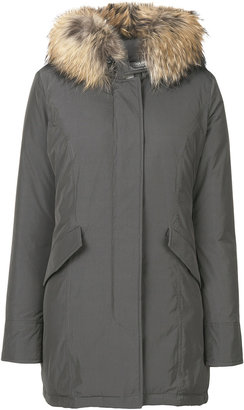 Woolrich hooded down midi coat $864.42 thestylecure.com