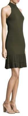 MICHAEL Michael Kors Mockneck Mini Dress