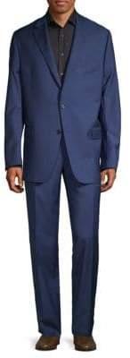 Hickey Freeman Milburn II Notch Lapel Wool Suit