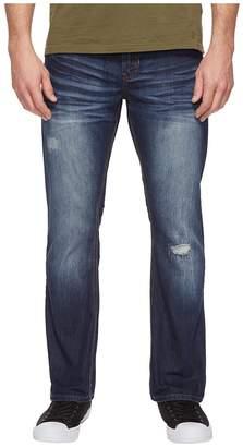 Buffalo David Bitton King Slim Bootcut Jeans in Medium Repaired Wash Men's Jeans