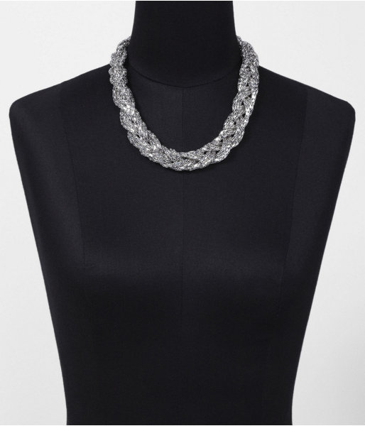 Braided Mesh Necklace