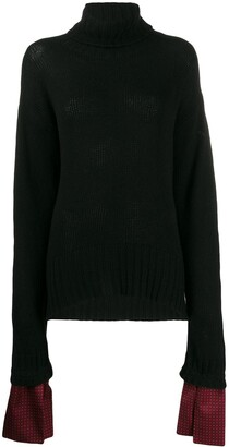 Jejia loose-fit turtleneck jumper