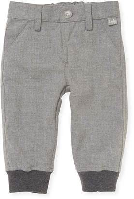 Il Gufo Solid Ribbed Trouser