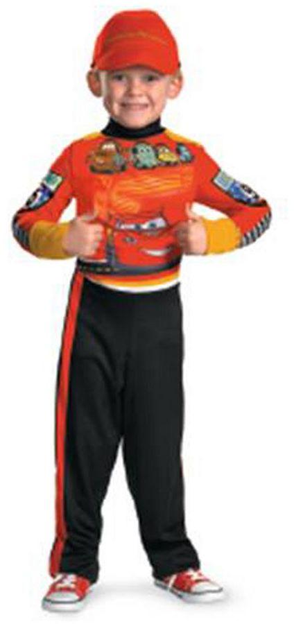 DisneyDisney / Pixar Cars Lightning McQueen Pit Crew Cars Costume - Toddler