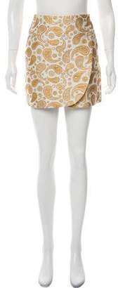 Stella McCartney Patterned Mini Skirt