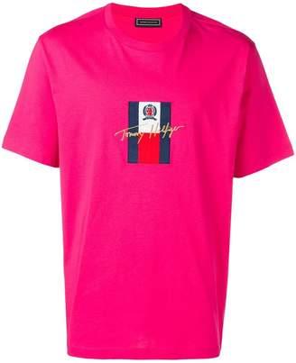 Tommy Hilfiger (トミー ヒルフィガー) - Tommy Hilfiger ロゴエンブロイダリー Tシャツ