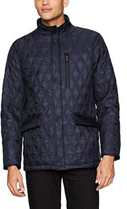 Thermoluxe Heat System Men's Prichard Quilted Walking Jacket with Integrated Heat System