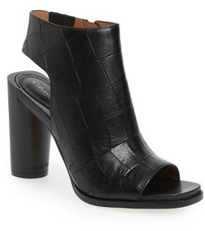 Women's Calvin Klein Amari Embossed Slingback Sandal $194.95 thestylecure.com