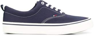 Tommy Jeans flat lace-up sneakers